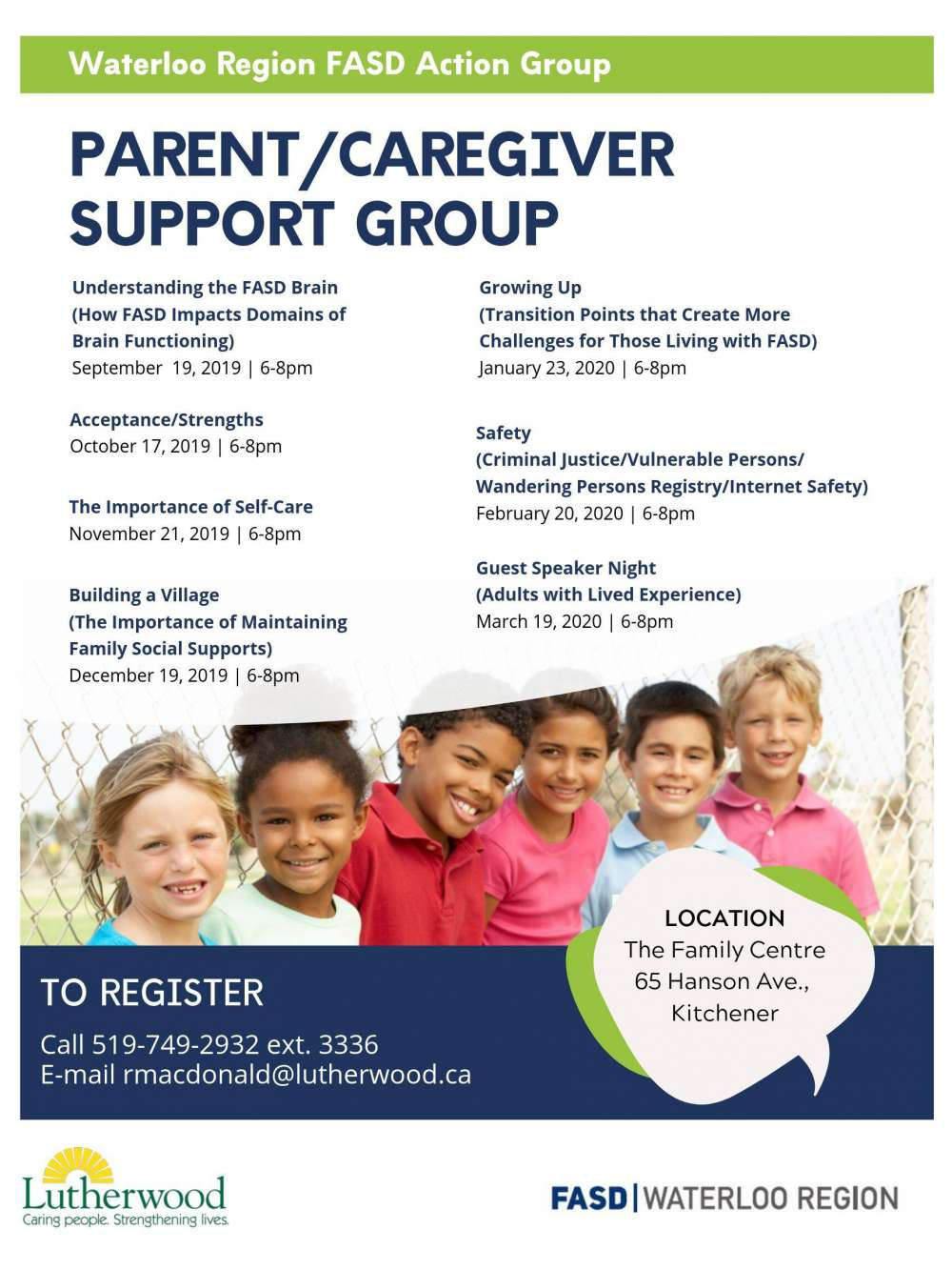 Parent Caregiver Support Group