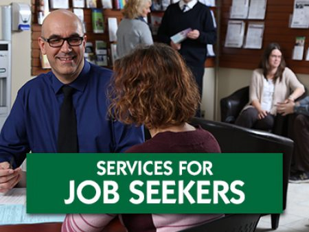 Services For Job Seekers Button