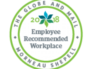 2018 Recommended Workplace Award