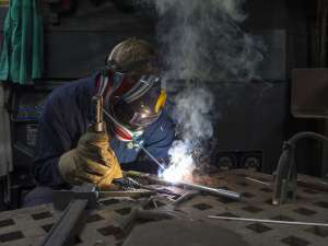 Canva Welder In Action