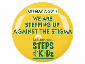 Steps For Kids Button