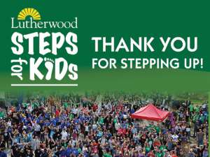 Steps For Kids Thank You Message