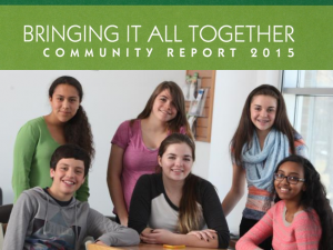 Community Report 2015 cover