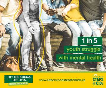 1 in 5 youth struggle with mental health